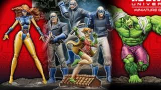Marvel DC Minis
