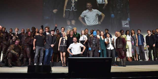 marvel group photo sdcc