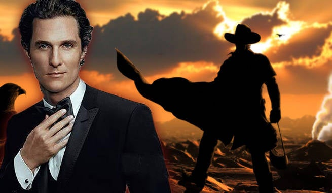 Matthew McConaughey First Look On Set Of Stephen King's The Dark Tower