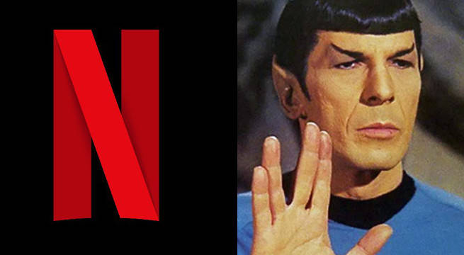"Netflix Obtains Exclusive International Rights To New ""Star Trek"" Series"