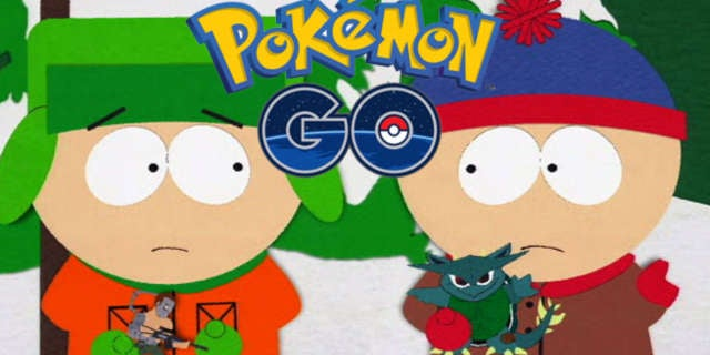 Pokemon GO South Park