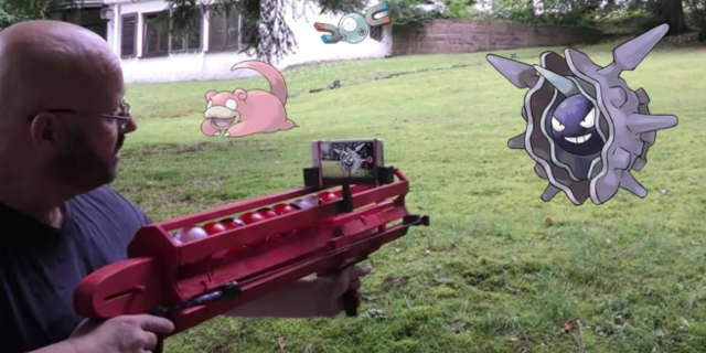 Pokemon Slingshot Bazooka