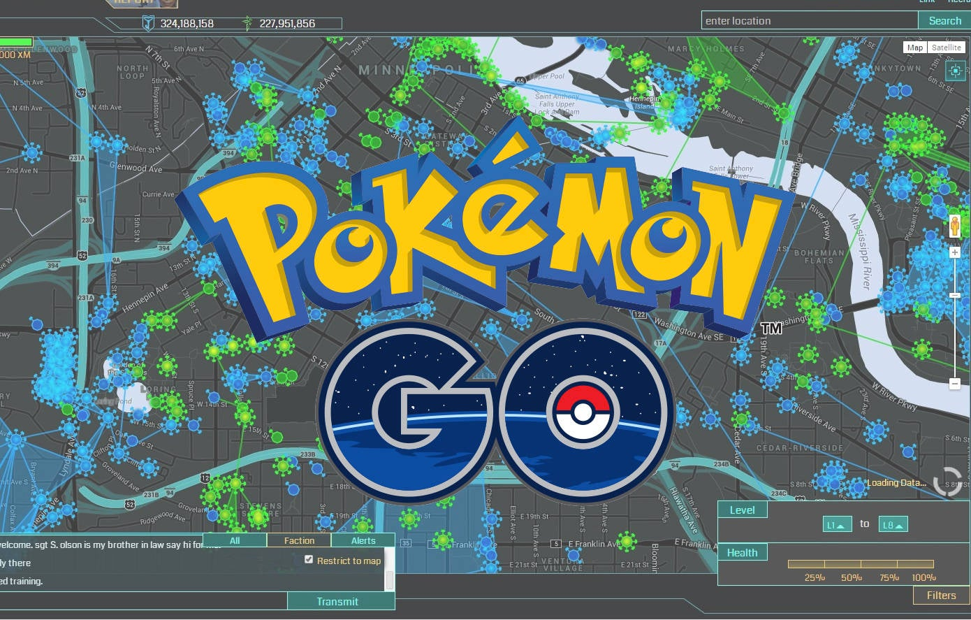 pokemongo ingress