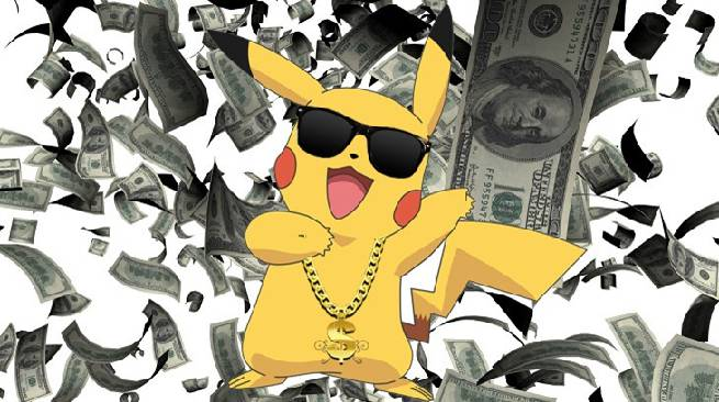 Pokemon GO Earns A Record Breaking $200 Million In Its First Month