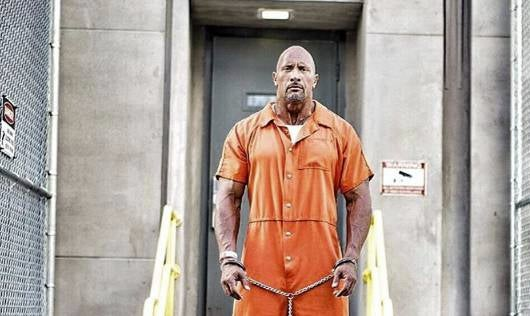 the rock jail_The Rock Goes To Jail On Fast Furious 8 Set