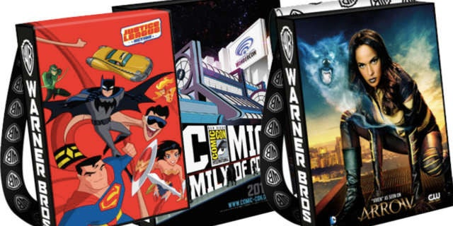 SDCC 2016 WB Bag Header