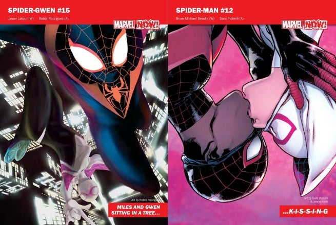 Marvel NOW Reveals A New Spider Man And Gwen Stacy Romance