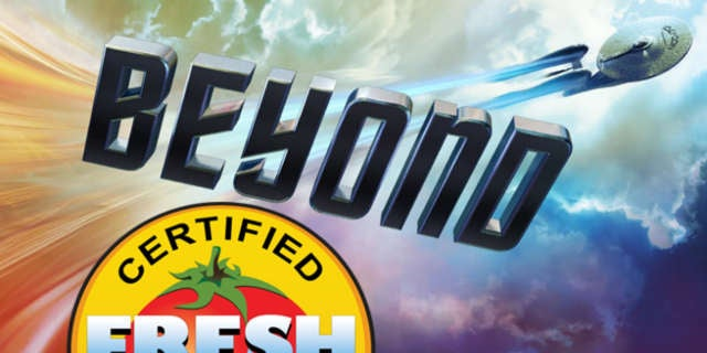 Star Trek Beyond Fresh Rating