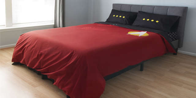 star trek tng bedding