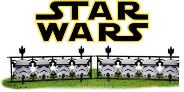 star wars stormtrooper fence