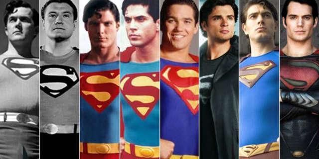 Superman TV Movie Actors Costumes Best Worst