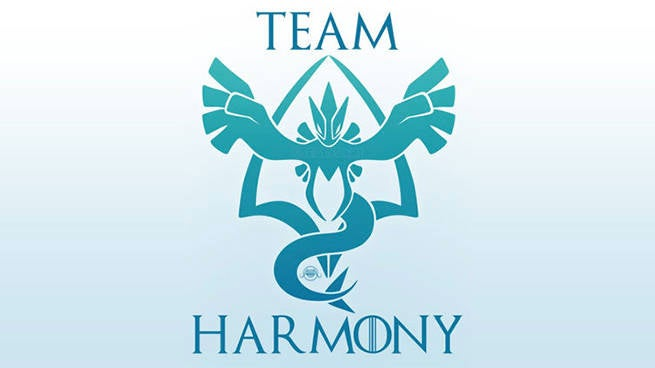 Project harmony encourages pokemon go teams to work together