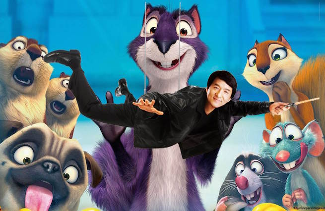 Jackie Chan Cast In The Nut Job 2