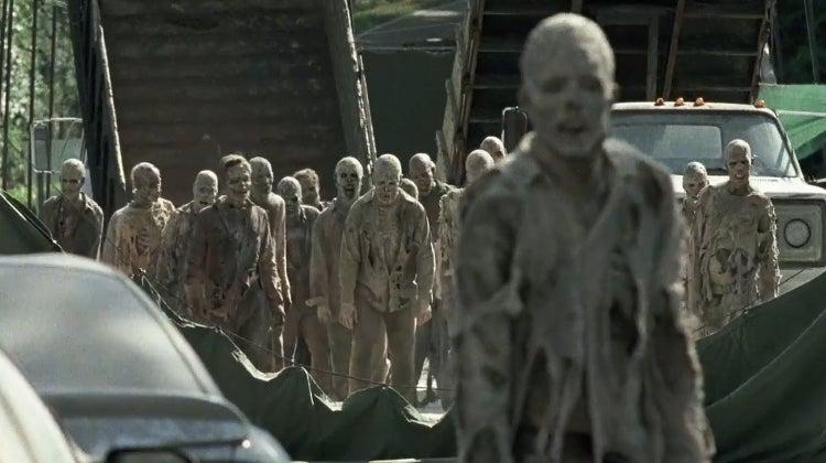 The Walking Dead Season 7 SDCC Trailer - Quicksand Walkers