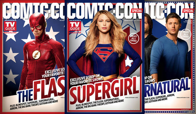 TV Guide and WBTV Debut Comic-Con Special Edition Issue