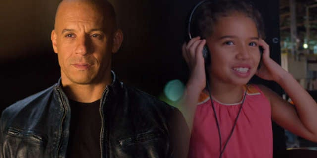 Vin Diesel F8 Daughter