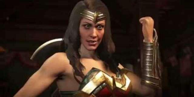 Wonder Woman Injsutice 2