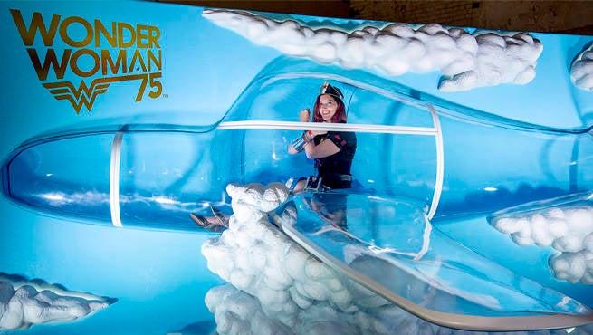 Wonder Woman Invisible Jet Header