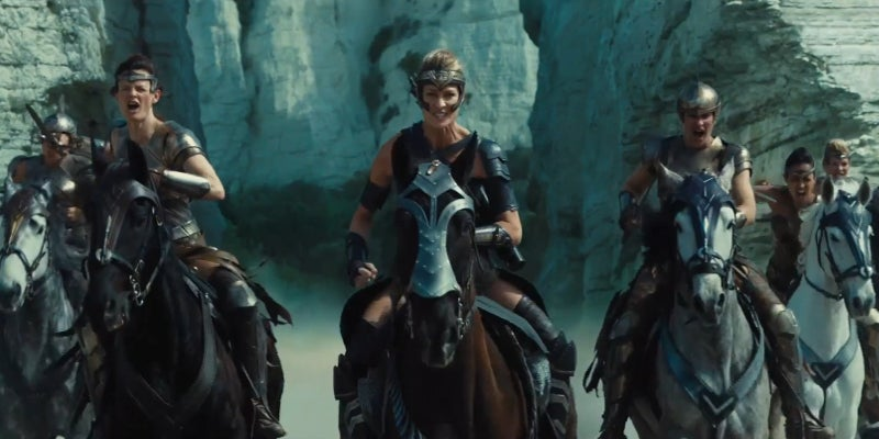 Wonder Woman Trailer - General Antiope