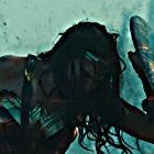Wonder Woman Trailer Screenshots - Gal Gadot Hero Pose with Shield