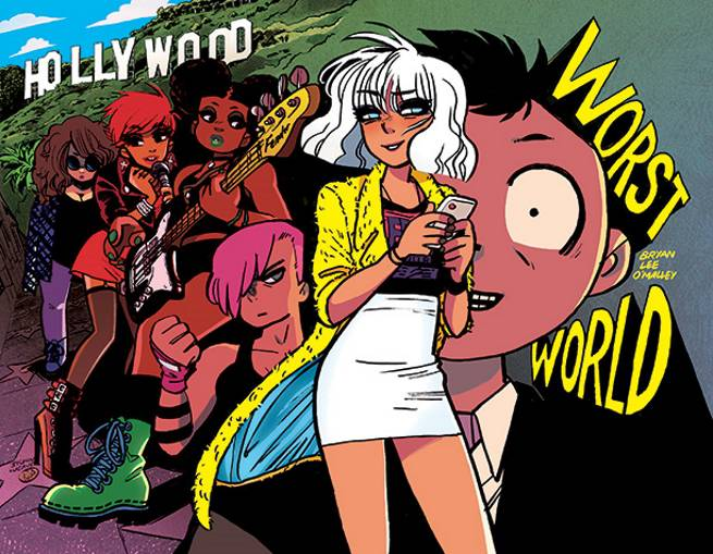Scott Pilgrim Creator Bryan Lee O Malley Announces Worst World