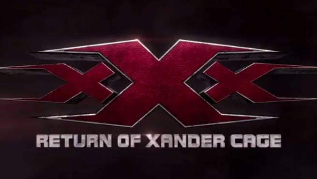 Vin Diesel's xXx: Return Of Xander Cage Logo Teaser Released