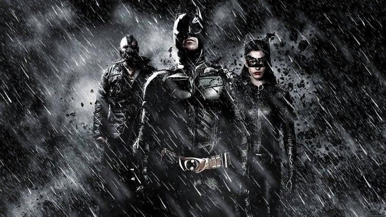 7 Fav Films Superhero Comic book Dark knight rises