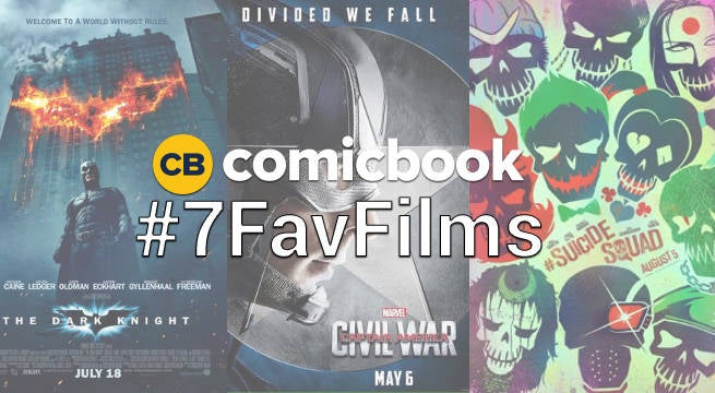 7favfilms Comic Book Superhero Movies