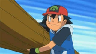 ash throws log