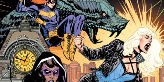 Batgirl BOP 1 Cover Header