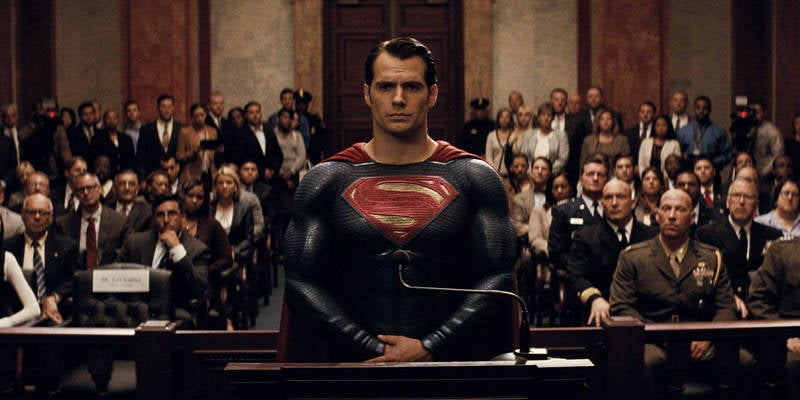 Batman v Superman is about American Politics post 9:11