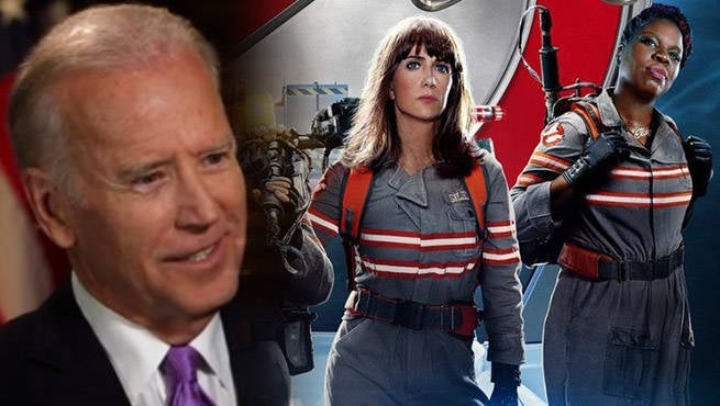 US Foreign Policy Is Like Ghostbusters, Says Joe Biden