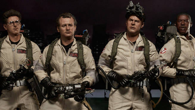 original ghostbusters collectible figures revealed