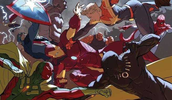Resultado de imagem para civil war ii #5
