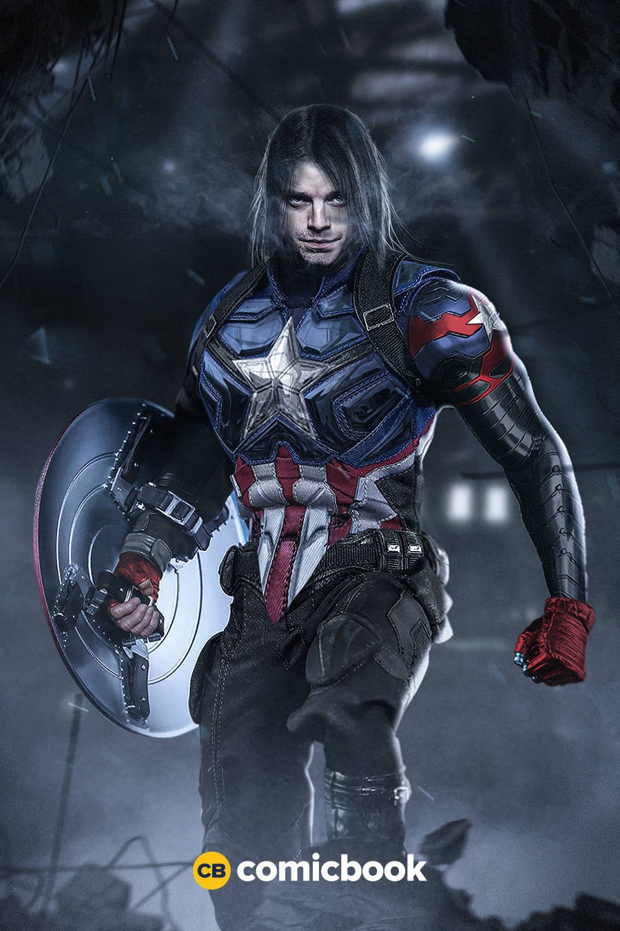 what bucky barnes could look like as captain america. Black Bedroom Furniture Sets. Home Design Ideas