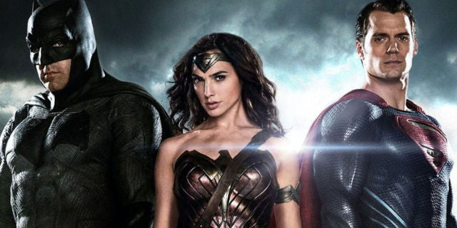 DCEU Trinity - Batman Superman Wonder Woman