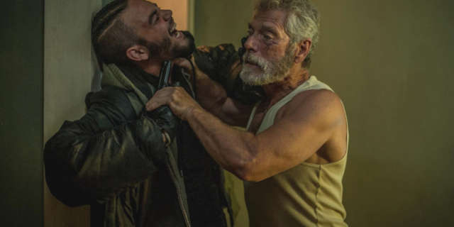 Don't Breathe (Review) Starring Jane Levy and Stephen Lang