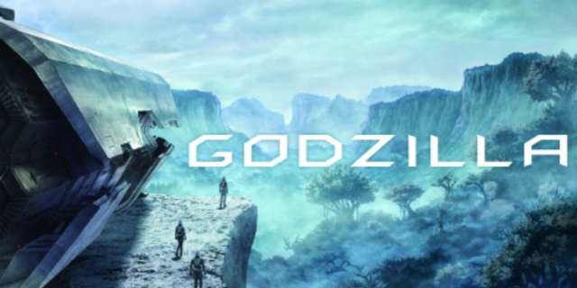 Godzilla Anime Animated Movie 2017