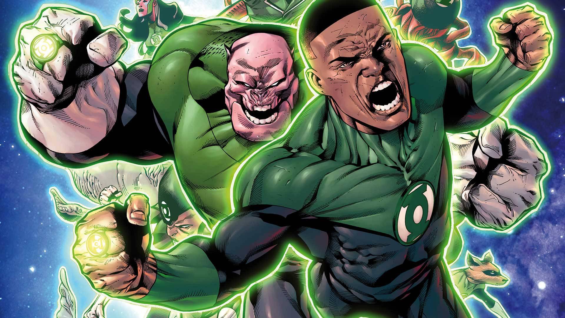 Resultado de imagen para Green Lantern Corps