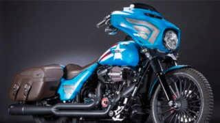 Harley Davidson Marvel Custom Header