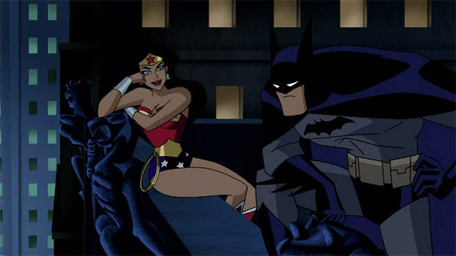 jlu batman wonder woman