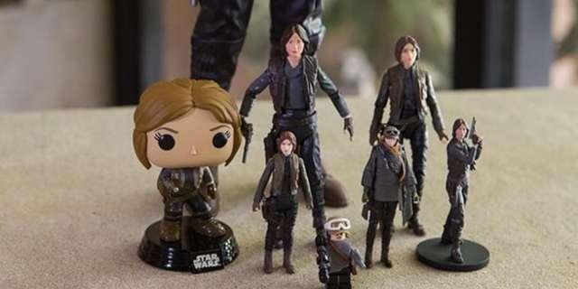Jyn Erso toys