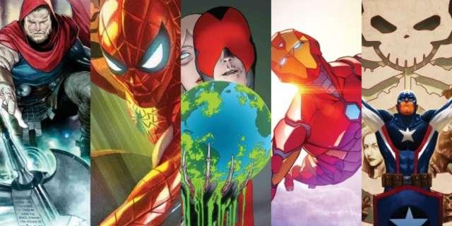 Marvel Comics November 2016