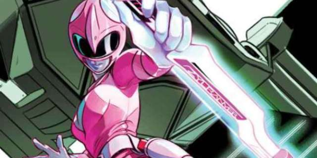 MMPR Pink #3 Cover