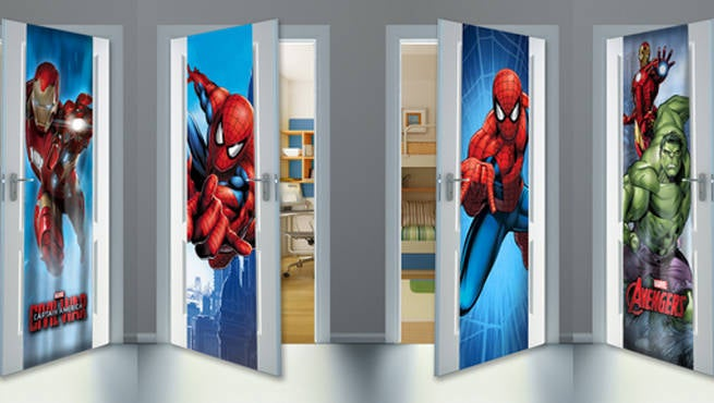 & Mydor Unveils Marvel Door Wraps