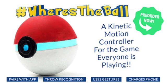 pokemon go controller