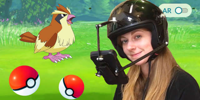 pokemon go helmet