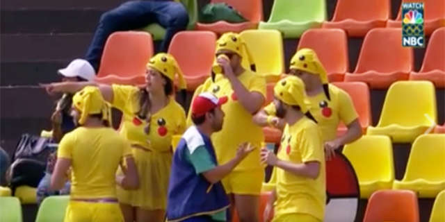 pokemon go olympics