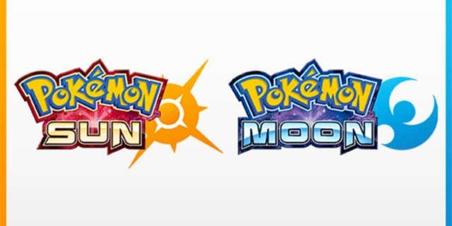 pokemon sun and moon logos