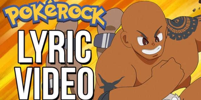 Pokerock Lyric Video Header